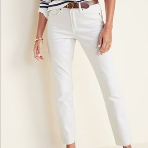 Old Navy Jeans - White old navy power jean